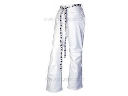 Kalhoty VIST LETHE Skipants White Leoblack