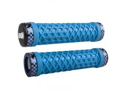 Gripy MTB ODI VANS Lock-Out Bonus Pack světle modrá
