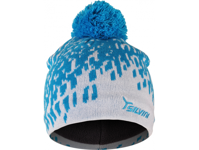 Čepice Silvini BANTA UA556 Blue juniorská