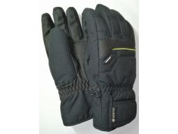 Rukavice Ziener GLYN GTX GORE PLUS WARM Black/Lime Green