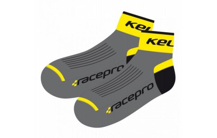 Ponožky Kellys RACE PRO Yellow