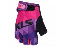 Rukavice KLS YOGI short, purple