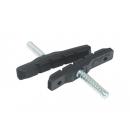 Brzdové gumičky KLS POWERSTOP C-02 Cantilever (pár)