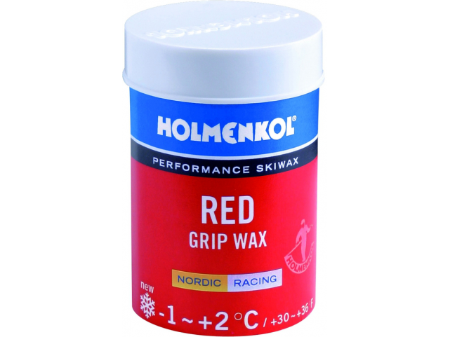 Vosk Holmenkol GRIP WAX Red