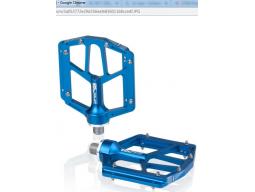 Pedály XLC PD-M14 Al, modrá