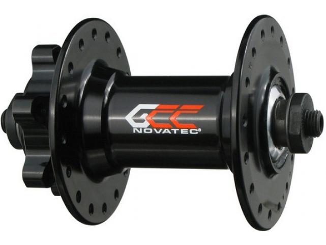 Náboj Novatec D341GCC přední 32 děr černý