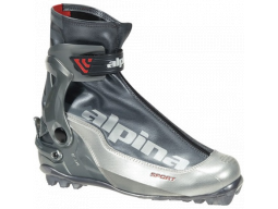 Běžecké boty Alpina SSK Silver Charcoal