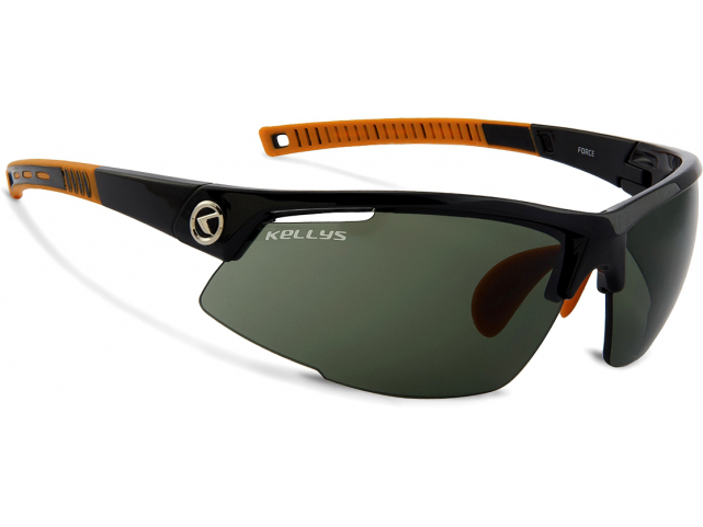 Brýle Kellys FORCE Shiny Black