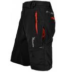Kalhoty Silvini MTB RANGO MP857 Black Red