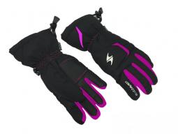 Rukavice Blizzard Rider junior, black/pink