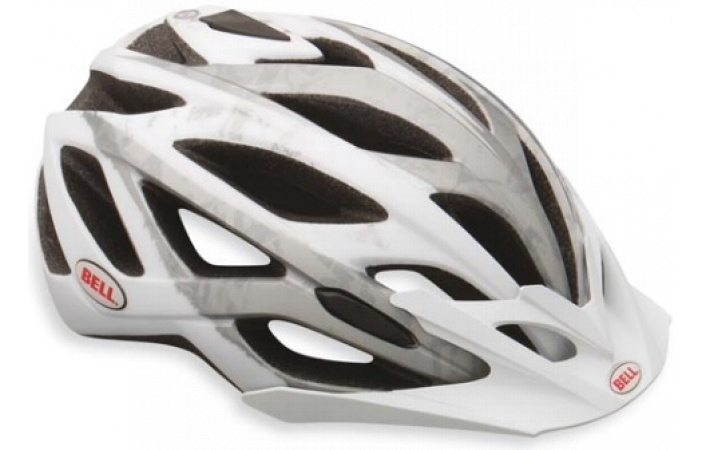 Helma Bell SEQUENCE Matte White Silver Logo model 2013