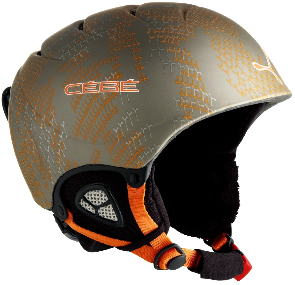 Helma Cébé FURY DELUXE JUNIOR Mat Grey Orange model 2011/12