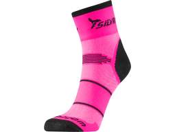 Ponožky Silvini ORATO UA445 Pink-Charcoal