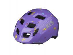 Přilba KLS ZIGZAG purple