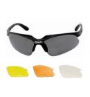Sportovní brýle s vyměnitelnými skly matné modré