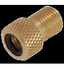 Redukce Vella, z velo/galuskového ventilku na moto ventil