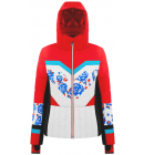 Bunda Poivre Blanc Ski Jacket Scarlet Red3/Flower Multi, 19/20