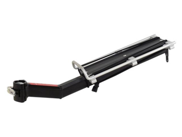 Nosič zadní KW-671-01 na sedlovku bez blatníku černý