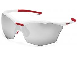 sluneční brýle RH+ Ultra Stylus, white/red, varia grey lens