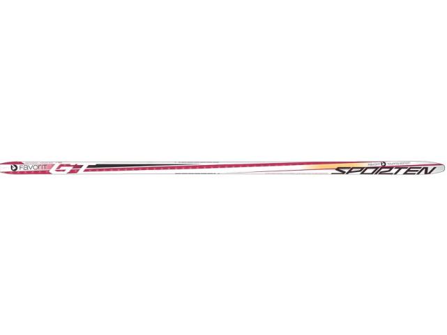 Běžky Sporten FAVORIT RED WAX Hládká skluznice Rubínová model 2013/14