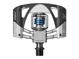 Pedály Crankbrothers Mallet 3 Charcoal/Electric Blue