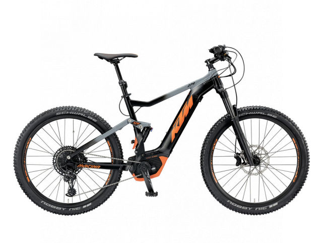 Elektrokolo KTM MACINA LYCAN 274 12 PT-CX5I4 Black matt/Orange, 2019