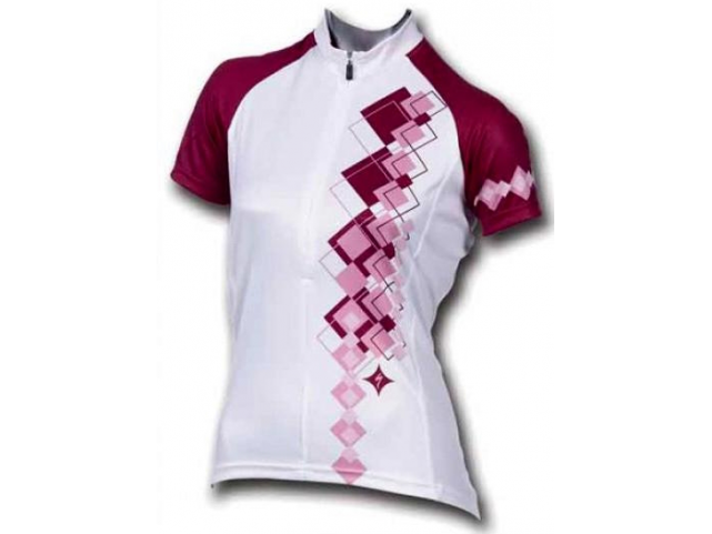 Dres Specialized CANDY S.S. WMN White Purple