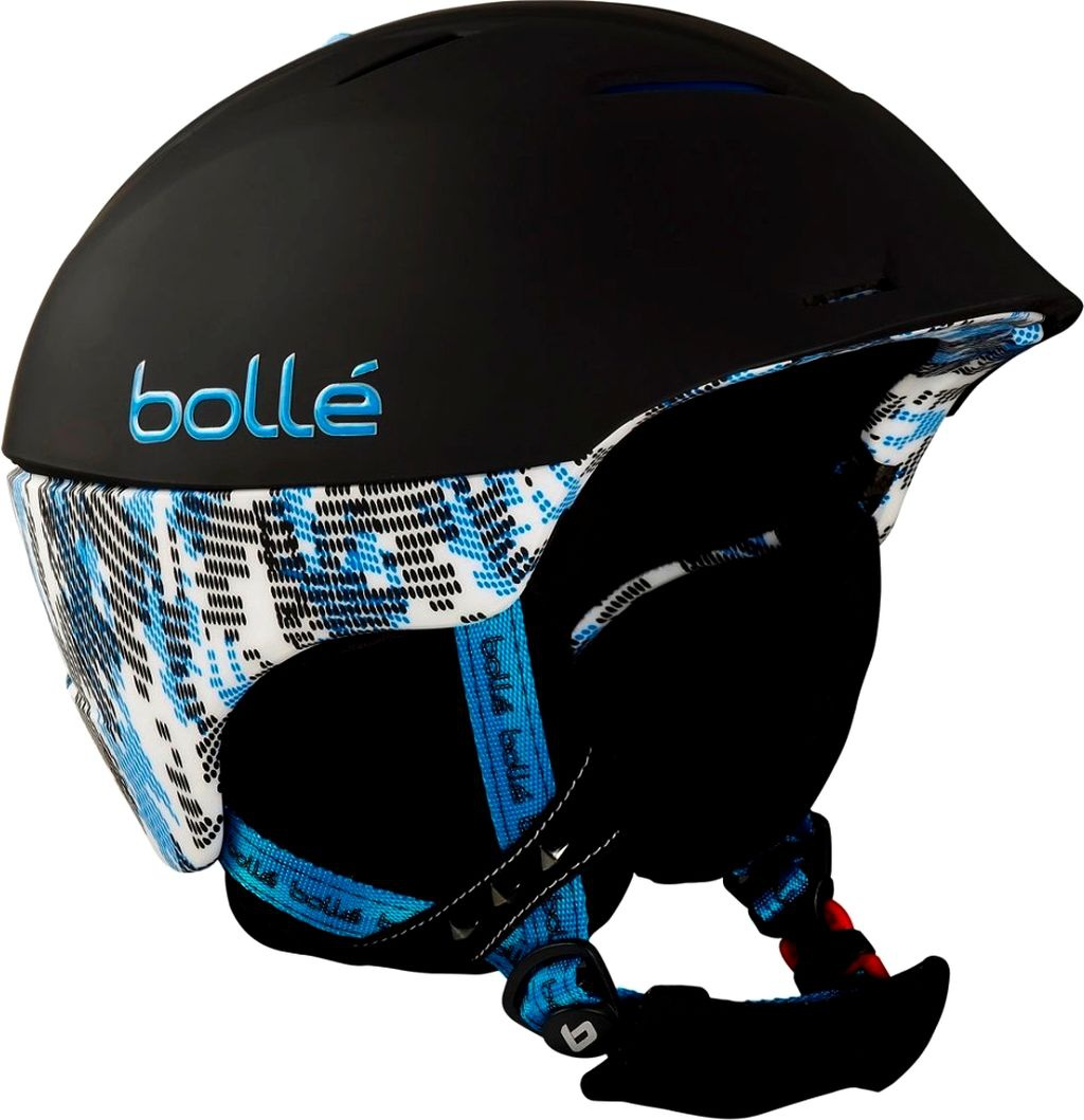 Helma Bollé SYNERGY Soft Black and Blue model 2012/13