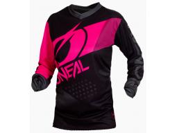 Dámský dres O´Neal Element FACTOR černá/růžová