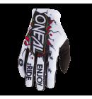 Dětské rukavice O´Neal Matrix VILLAIN bílá