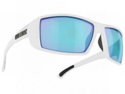 Brýle Bliz DRIFT Matt White Smoke w Blue Multi