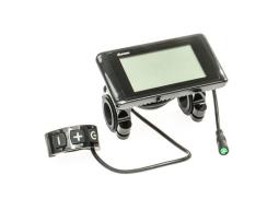 LCD Display C961 pro středový EVBIKE 36/48V - plochý