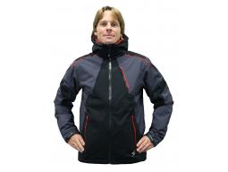 Bunda Blizzard POWER Ski Jacket Black Anthracite Red model 2015/16