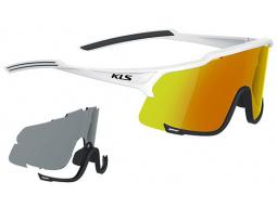 Sluneční brýle KELLYS DICE Photochromic, Shiny White