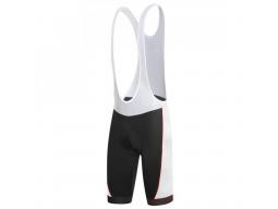 Kalhoty RH+ ZERO Bibshorts Black White Red