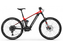 Elektrokolo Mondraker Crafty R 29, black/flame red/white, 2020