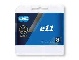 """Řetěz KMC e11 pro elektrokola 1/2"""" x 11/128"""", 122 clánku,5,65mm,11-st."""