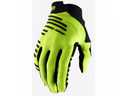 Rukavice 100% R-CORE Gloves Fluo Yellow