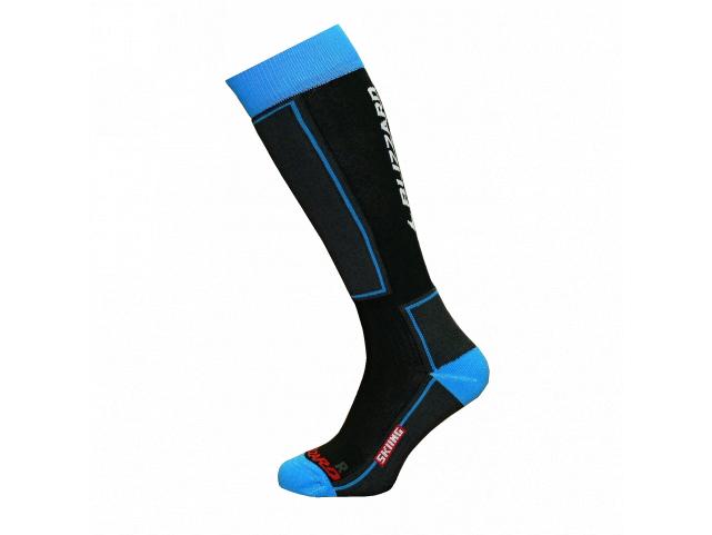 Ponožky Blizzard SKIING Ski Socks JUNIOR Black Blue