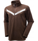 Mikina Rossignol 1/2 ZIP MICROFLEECE Chocolate model 2010/11