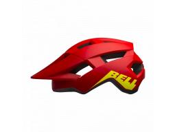 Helma BELL Spark JR Mat/Glos Red/Hi-Viz