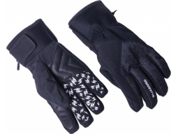 lyžařské rukavice BLIZZARD Chamonix ski gloves, black/grey 10