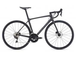 Kolo Giant TCR Advanced 2 Disc-Pro Compact, Matte Carbon/Gloss Rainbow Black 2021