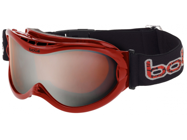 Lyžařské brýle Bollé SHARKFIN Mettalic Red Citrus Gun