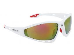 Brýle Force PRO White, červená skla