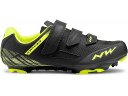 Tretry Northwave Origin Black/Yellow Fluo, model 2019