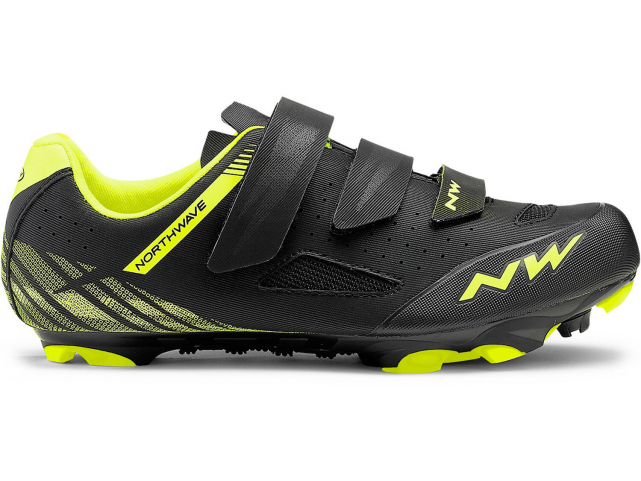 Tretry Northwave Origin Black/Yellow Fluo, model 2019