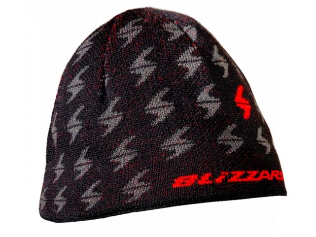 čepice BLIZZARD Magnum cap, black/red