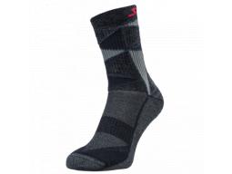 Ponožky Silvini Vallonga UA1745 Black-Red