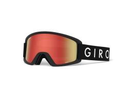 Lyžařské brýle GIRO Semi Black Core Amber Scarlet/Yellow (2 skla)